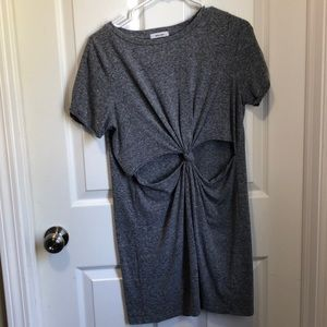 Cutout tie front Tunic